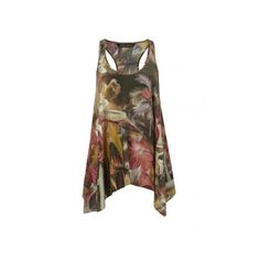 All Saints Botanical Racer Vest found on Polyvore