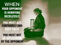 You Must, Keep Calm, Acting