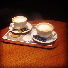 Kaffee 👏🎉 @rooooooobert91 😘 #Sonntag #cappucino #mcdonalds #mccaffe #schönenabendeuch💫