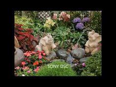Ejemplos de patios y jardines pequeños decorados. Video 1 de 3 - YouTube