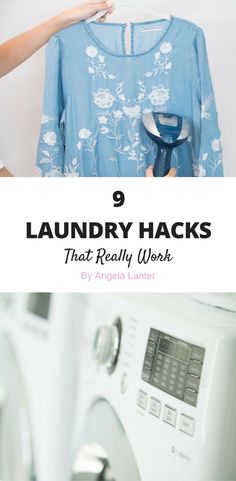 I'm a little OCD about my home (organization and cleanliness) and even more so about my laundry.  These past four months of transition as we're still trying to get settled into our new home have drove me nuts!  I'm still trying to find new homes for everything, which is so outside of my personality.  I like order in my home. 9 laundry hacks that really work.