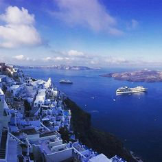 """""""Blissful blue views from the Mediterranean."""" #celebritycruises"""