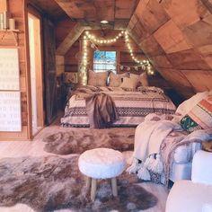 Bedroom! So cozy.