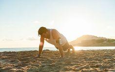 A Beach Workout to Torch Calories