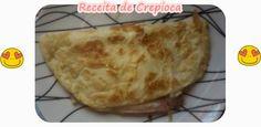 Dianne Nogueira: Lanche super rápido - Receita de Crepioca #food