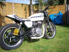 1981 YAMAHA xs 250 flat tracker, street tracker, bobber, cafe racer, years mot   eBay