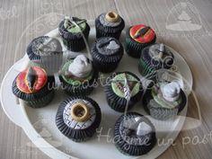 El señor de los anillos cupcakes!! Seguinos en facebook..