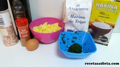 ÑOQUIS DE PATATA Y ESPINACA - Recetas a dieta Ice Cream, Eggs, Breakfast, Desserts, Food, Gnocchi Recipes, Homemade Recipe, Healthy Recipes, Eating Clean
