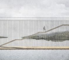 Studio Holmberg | a f a s i a National Parks, Studio, Architecture, Collages, Bridge, Models, Aphasia, Dibujo, Arquitetura