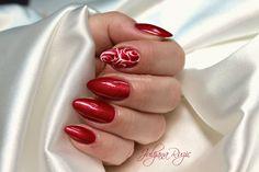 Simple salon nails
