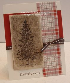 Lovely As a Tree and Stampin' Up!