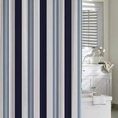 Echo Cabana Stripe Shower Curtain