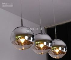 Wholesale Dinning room pendant lamp,plated glass ball pendant lights,modern pendant lighting, $289.8-306.15/Piece | DHgate