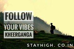 Feel the Calmness and spiritual powers at Kheerganga, Himachal Pradesh, India. www.stayhigh.co.in Spiritual Power, Spirituality, India, Feelings, Nature, Travel, Goa India, Naturaleza, Viajes