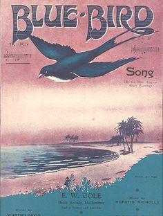 Blue Bird vintage sheet music