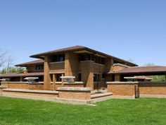 Located in Buffalo, New York, the Martin house stands as just one example of Wright's prolific career, establishing the style. His highly st...