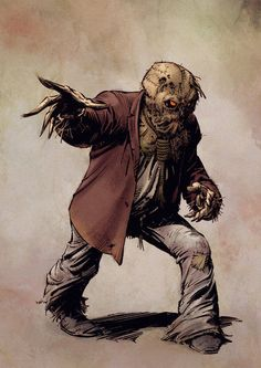 Scarecrow by Greg Capullo and Mike Spicer