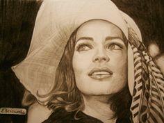 Lina Volochkova. Portrait Of Romy Schneider
