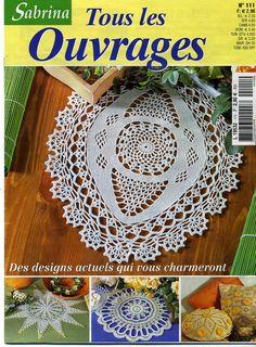 Photo: - Knitting and Crochet Guide Crochet Book Cover, Crochet Books, Thread Crochet, Knit Crochet, Knitting Magazine, Crochet Magazine, Crochet Diagram, Crochet Chart, Crochet Tablecloth