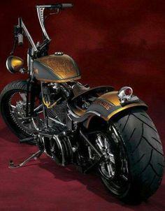 Chopper, love the painting. Those are the ape hangers I want! Vintage Harley Davidson, Motos Harley Davidson, Moto Bike, Motorcycle Bike, Custom Harleys, Custom Bikes, Custom Bobber, Mv Agusta, Ducati