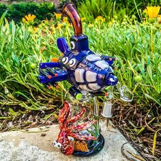 EMPIRE GLASSWORKS - SUBMARINE DAB RIG  This unique dab rig is new for 2016 from @empireglassworks  Available on our online HeadShop!  420 SALE  KINGS-PIPE.COM  #KINGsPipe