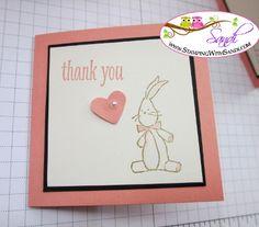bunny love by Sandi @ www.stampingwithsandi.com
