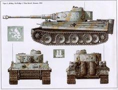 Tiger-I,sPzKp,SS-PzRgf. 2 Das Reih, Russia, 1943.