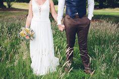 Low Key Hand Made Wedding