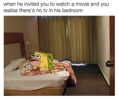 On Netflix and chill: | 23 Times Caveman SpongeBob Was The Most Relatable SpongeBob I LOVE THESE