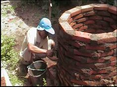 construction of the outdoor kiln