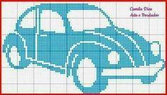 VW - cross stitch