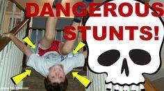 VIDEO: Dangerous Stunts (Don't Tell Dad!)  WATCH: https://youtu.be/h4w-84x9098  #amazing #stunts #tricks #backflips #gymnastics #dangerous #parcour