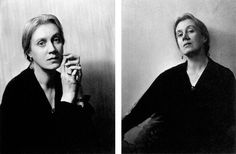 Vanessa Bell, Mortimer Road, Cambridge, March 1932. Photos by Lettice Ramsey (thanks Cate)
