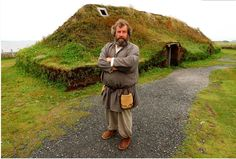 Vikings made amazing green-roof village 1000 years ago