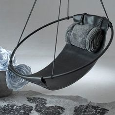 Sling Hanging Swing Chair - White - Светлана З - Dekoration Hanging Swing Chair, Swinging Chair, Swing Chairs, Hanging Chairs, Lounge Chairs, Room Chairs, Bag Chairs, Diy Sofa, Diy Chair