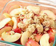 Peach Crumble Recipe & Video | Martha Stewart