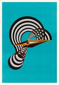 Abstract composition M365 - 70 x 100 cm - Unique print shop.jesusperea.com