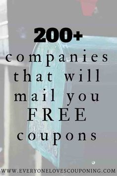 Companies You Can Contact For FREE Coupons! Companies You Can Contact For FREE Coupons! One of my favorite ways to get high-value and sometimes even FREE item coupons is e-mailing manufacturers. very simple and doesn't take a whole Companies Yo How To Start Couponing, Couponing For Beginners, Couponing 101, Extreme Couponing, Ways To Save Money, Money Saving Tips, Money Savers, Money Tips, Money Budget
