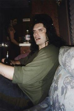 Peter Steele and Johnny's in the background! Type 0 Negative, Peter Steele, Doom Metal Bands, Popular People, Green Man, Fallout, Hard Rock, Rock And Roll, Sexy Men