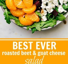 Roasted Beet and Goat Cheese Salad with Balsamic Vinaigrette - Chelsea's Messy Apron Roasted Beet and Goat Cheese Salad with Balsamic Vina...