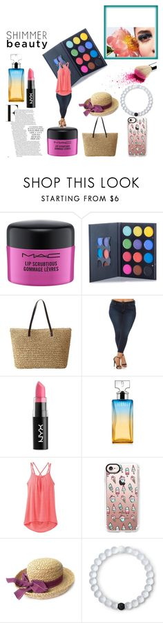 """smile child"" by ladeej on Polyvore featuring MAC Cosmetics, Slink Jeans, NYX, Calvin Klein, prAna, Casetify, Lokai and plus size clothing"