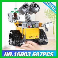 Check Discount 2017 New Lepin 16003 Idea Robot WALL E Building Set Kits Toys Educational Bricks Blocks Bringuedos 21303 for Children DIY Gift Wall E, Lego Building Blocks, Building Toys, Kit S, Model Building Kits, Brick Block, New Year Gifts, Toy Sale, Diy Toys
