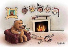Ilustrações com humor, mostram como seria se os animais trocassem de papéis connosco. - Chiado Magazine