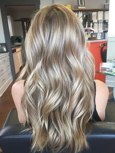 Beautiful Cool Blonde And Styled With Beachy