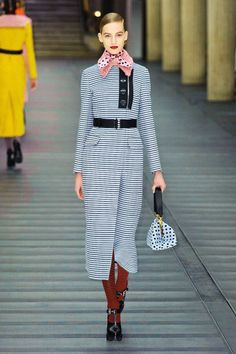Miu Miu Fall 2013 #runway #fashionweek