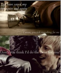 Merlin and Arthur||Supernatural quote. This fits so well! --- I don't know which board to pin this to.... :-/