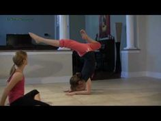 Elbow Stands - Gymnastics Tutorial - How to do an elbow stand