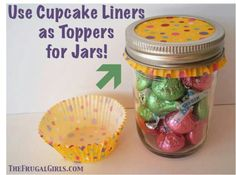 Great idea for party favors.