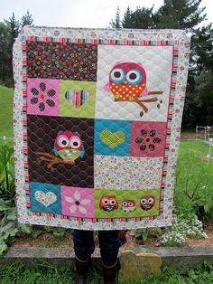 Owl quilt--so adorable!!!