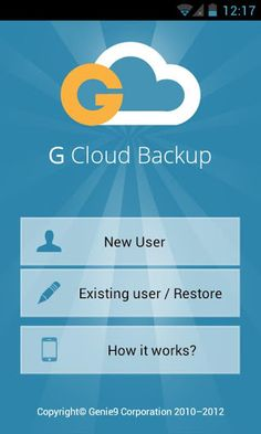 صدى التقنية: G Cloud Backup تطبيق يتيح لمستخدمي أندرويد حفظ نسخة إحتياطية من ملفاتهم في سحابة آمنة